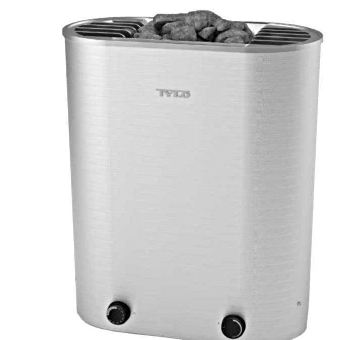 Tylö Curve, il nuovo riscaldatore per sauna