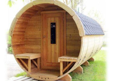 Sauna a botte