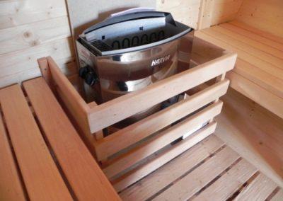 Riscaldatore sauna a botte