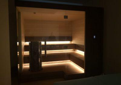 Sauna and pool Dubai 3