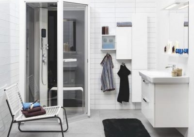 Tylo Impression Angolare Steamshower