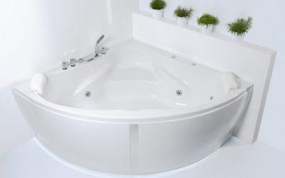 Capricorno, Corner Whirlpool Bath