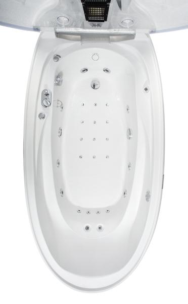 Vasca idromassaggio con sauna Elegance
