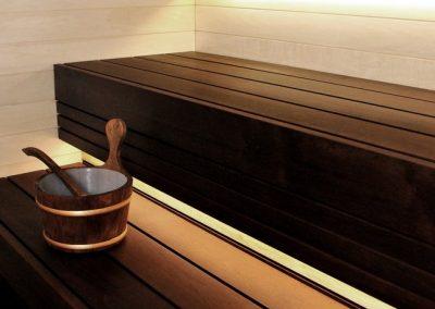 Sauna Lava interno