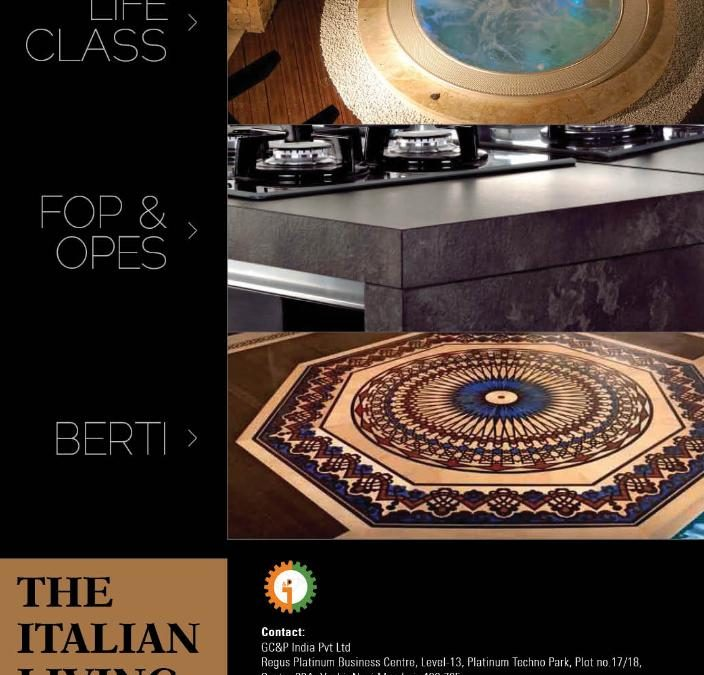 "Lifeclass, ""The Italian Living"" and the Indian experience"