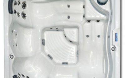 Square Hot Tub 5 Seats Portofino