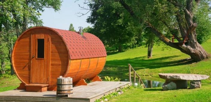 saune finlandesi da esterno