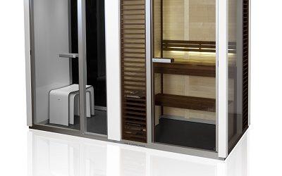 Twin: Sauna, shower and Turkish Bath