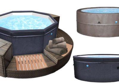 vasche portatili semirigide