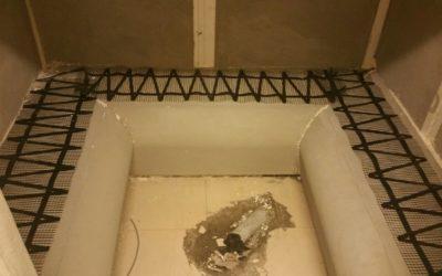 Rete scaldante per bagno turco