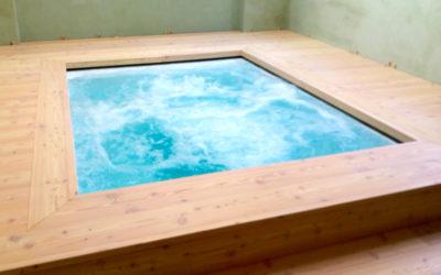 Vasche idromassaggio su misura