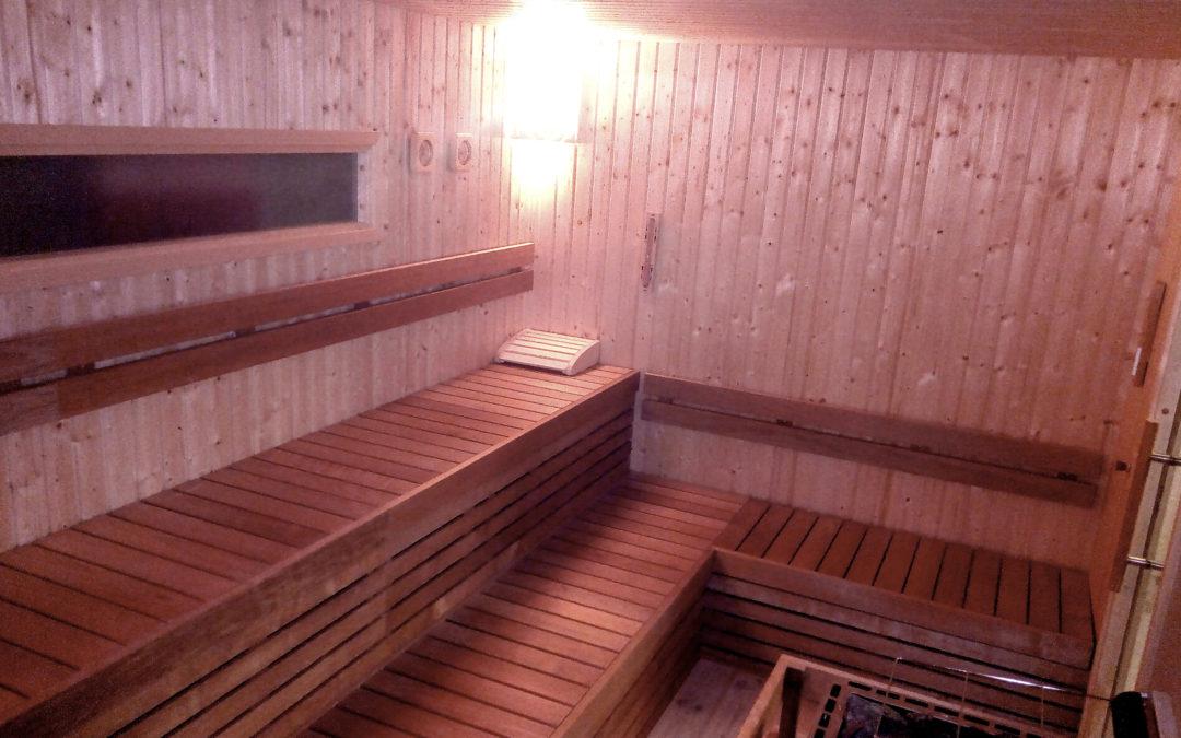 US Army gym saunas