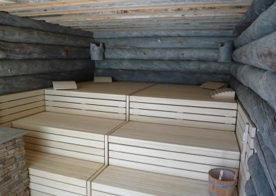 Customized Sauna benches