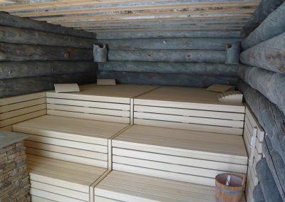 Panche sauna