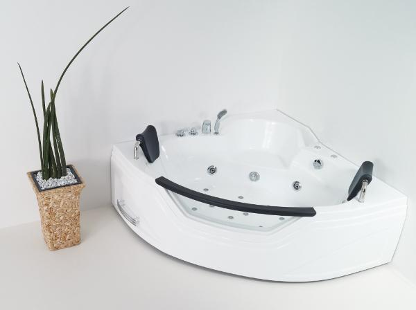 vasca idromassaggio angolare