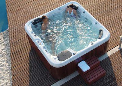 Hot Tub Virgin