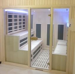 sauna infrarossi carbonio