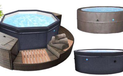 Mini piscine idromassaggio portatili semirigide
