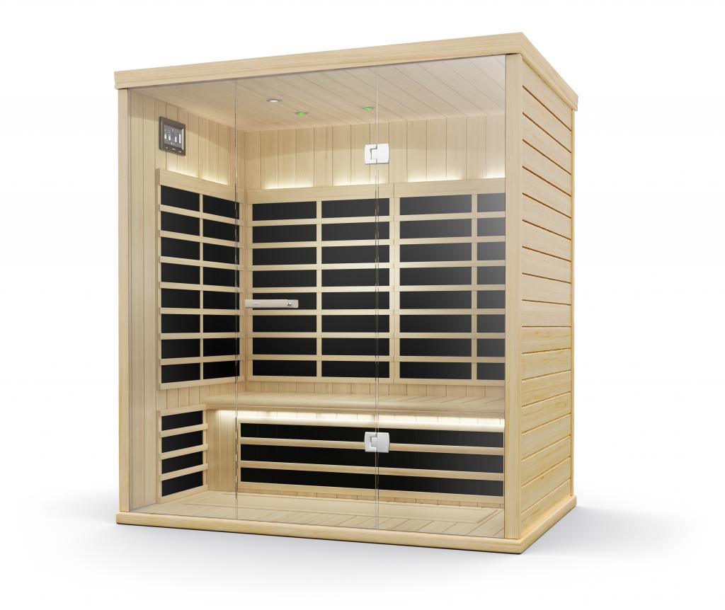 Sauna In Casa Consumi cabine ad infrarossi lifeclass - porta il benessere a casa tua!