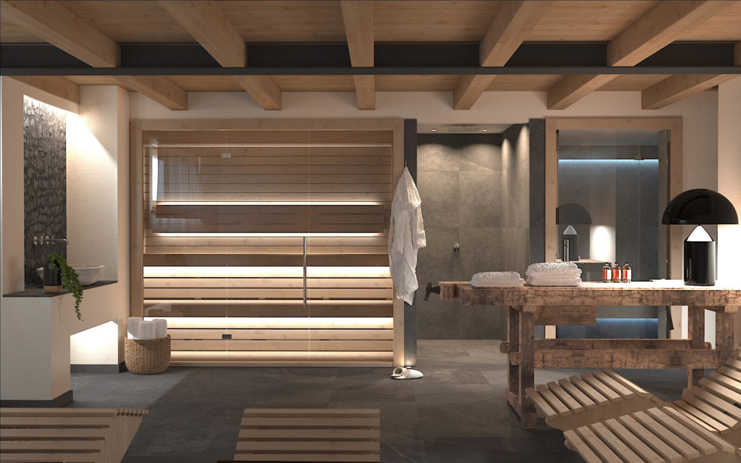 Spa for  Residence in Belluno