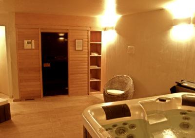 Sauna e vasca idromassaggio Altoadige