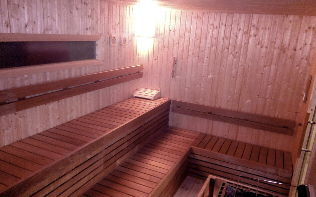 US Army gym saunas