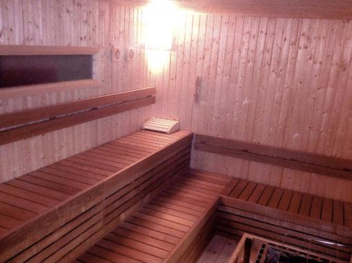 Saune palestra caserma Ederle