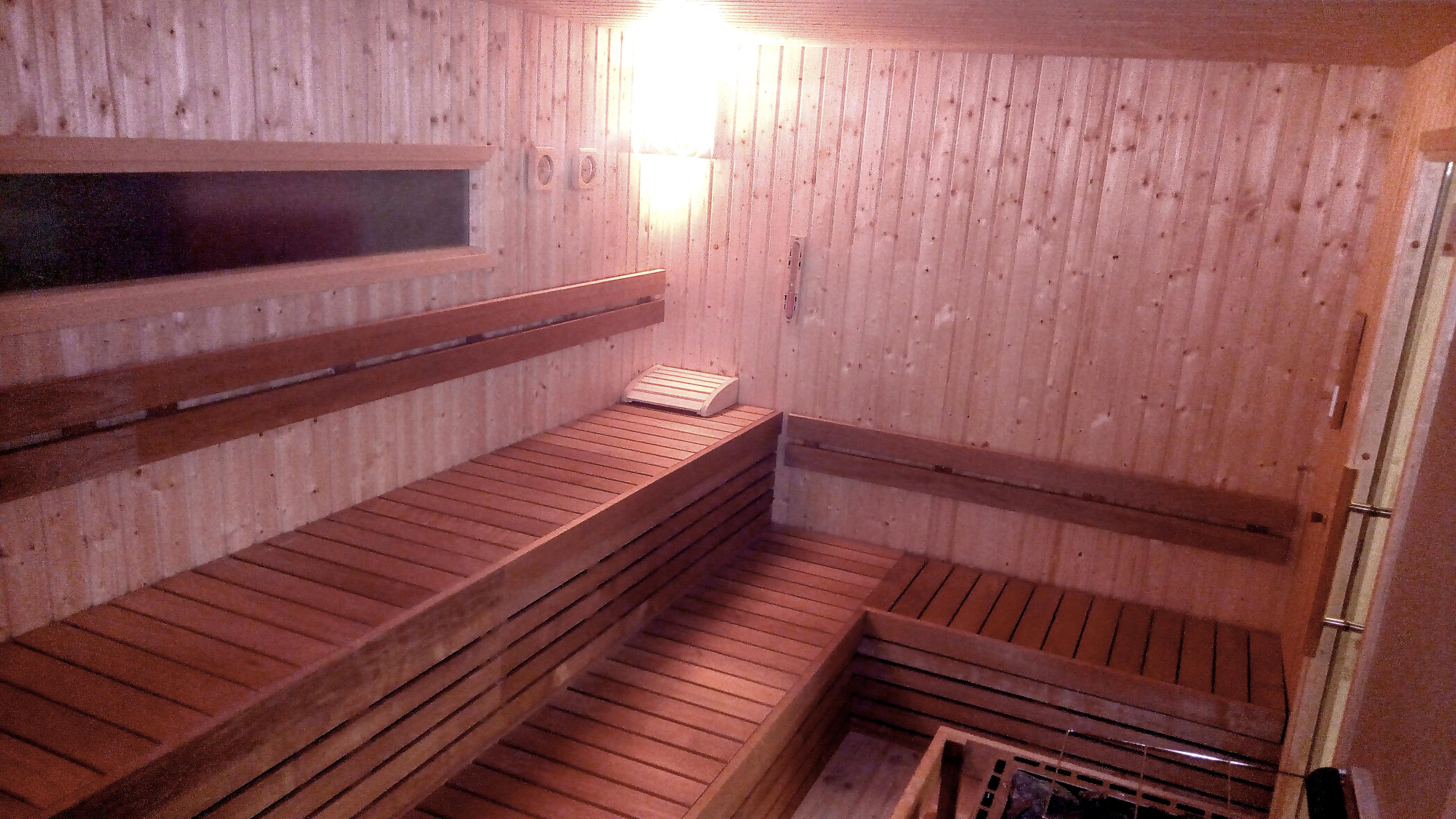 sauna palestra