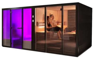 sauna e bagno turco – Panacea Twin