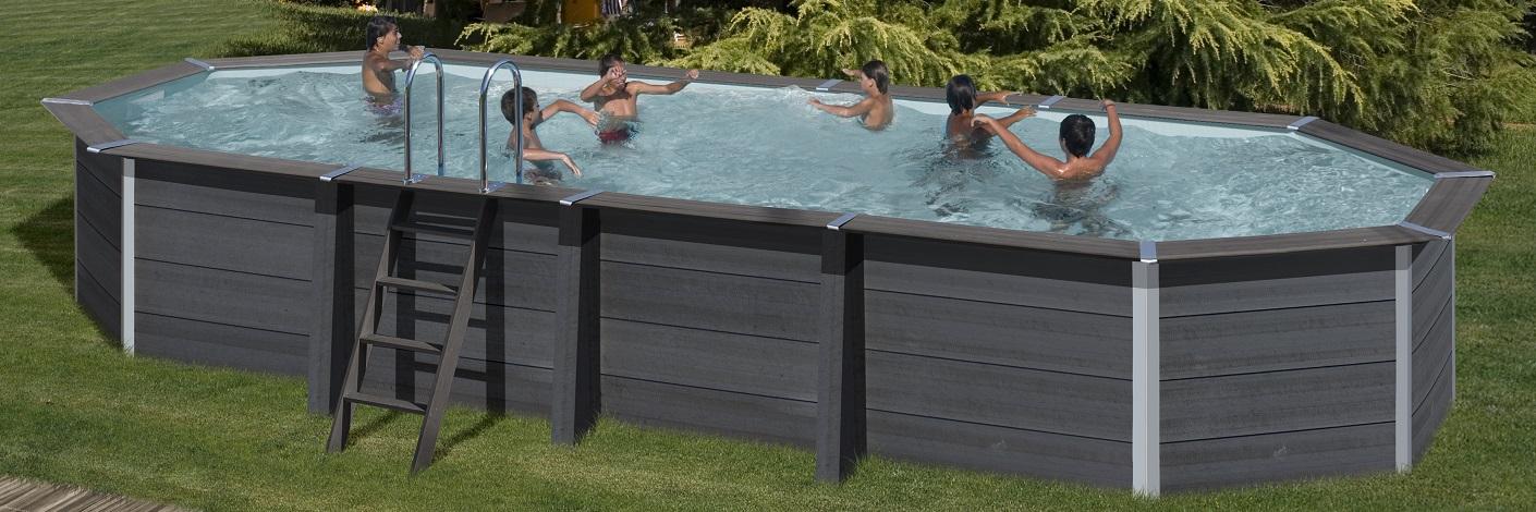 piscina ovale avantgarde
