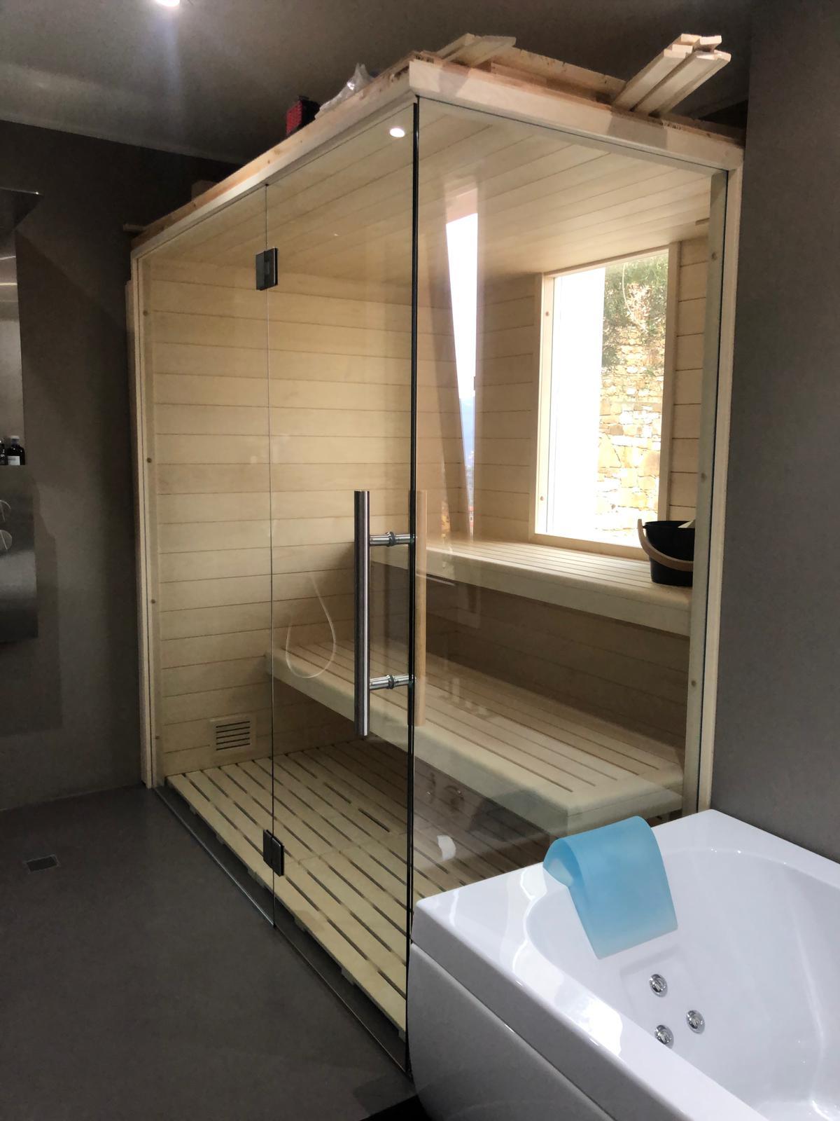sauna in aspen