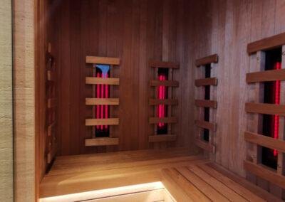 sauna infrarossi full spectrum