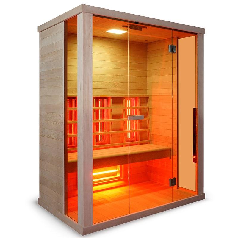 sauna ad infrarossi full spectrum