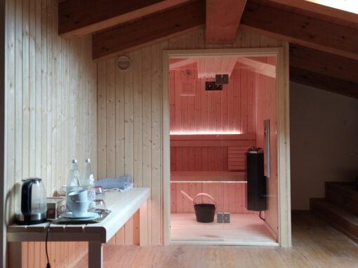 Sauna per mansarda