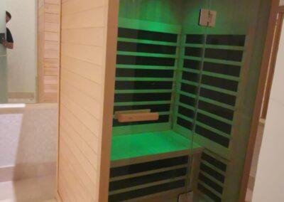 sauna ad infrarossi tylo
