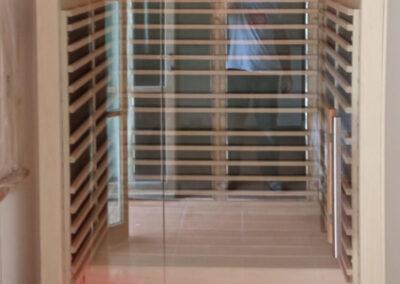 sauna pannelli carbonio